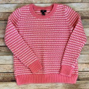 Gap Preppy Pink Sweater